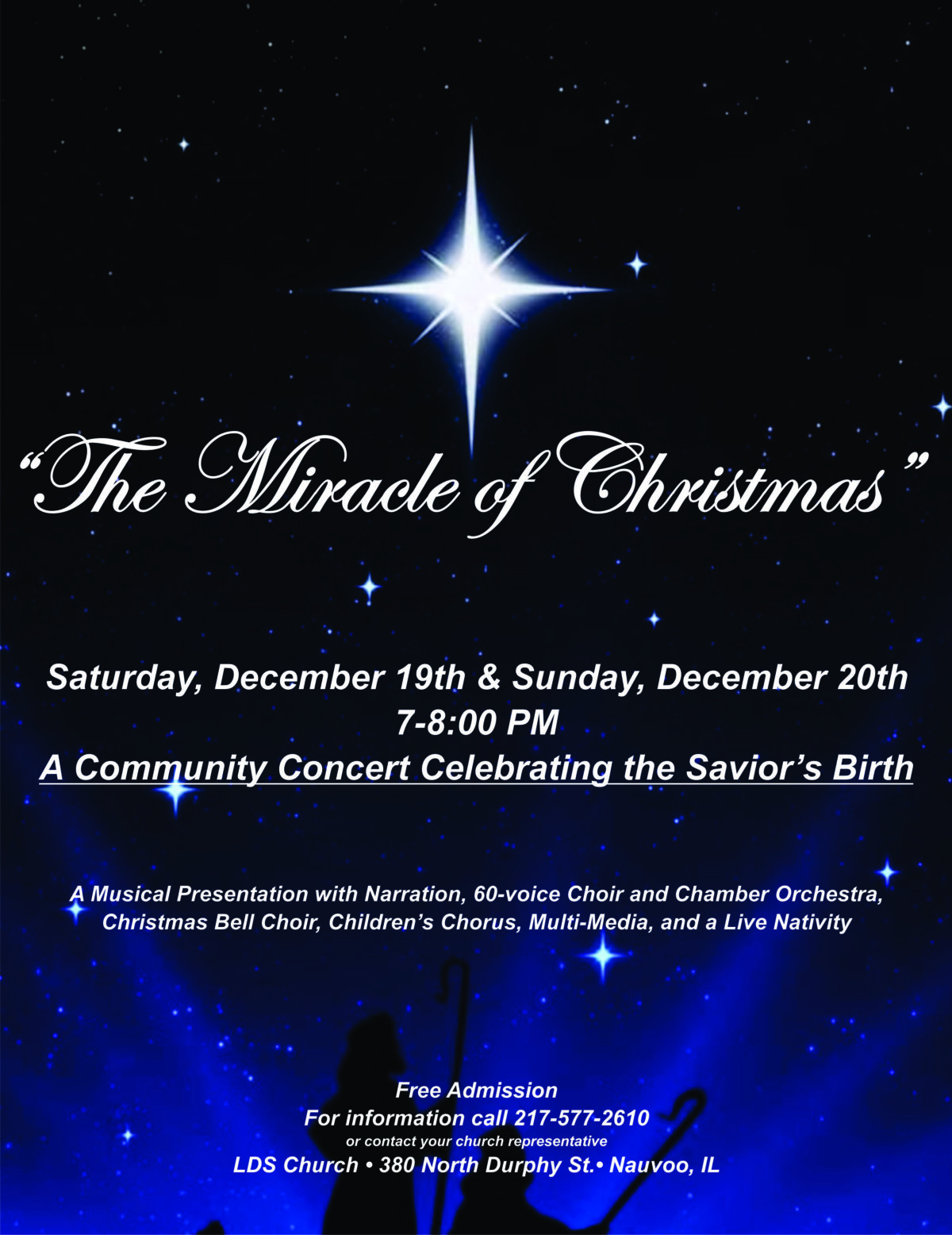 The Miracle Of Christmas.The Miracle Of Christmas Macomb Area Convention And