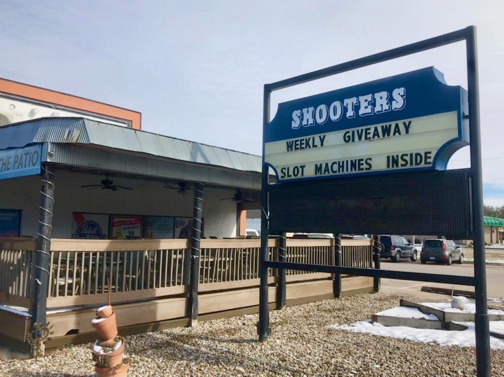 Exterior of Shooters