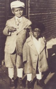 As a child, C.T. Vivian's mother and grandmother dressed him in tailored suits, even during the Great Depression. C.T. Vivian is at left. Family Photo