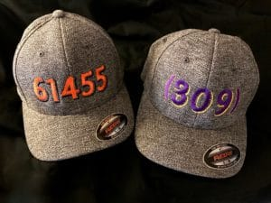 61455 and 309 hats