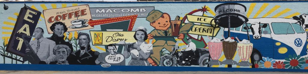 Old Dairy Mural
