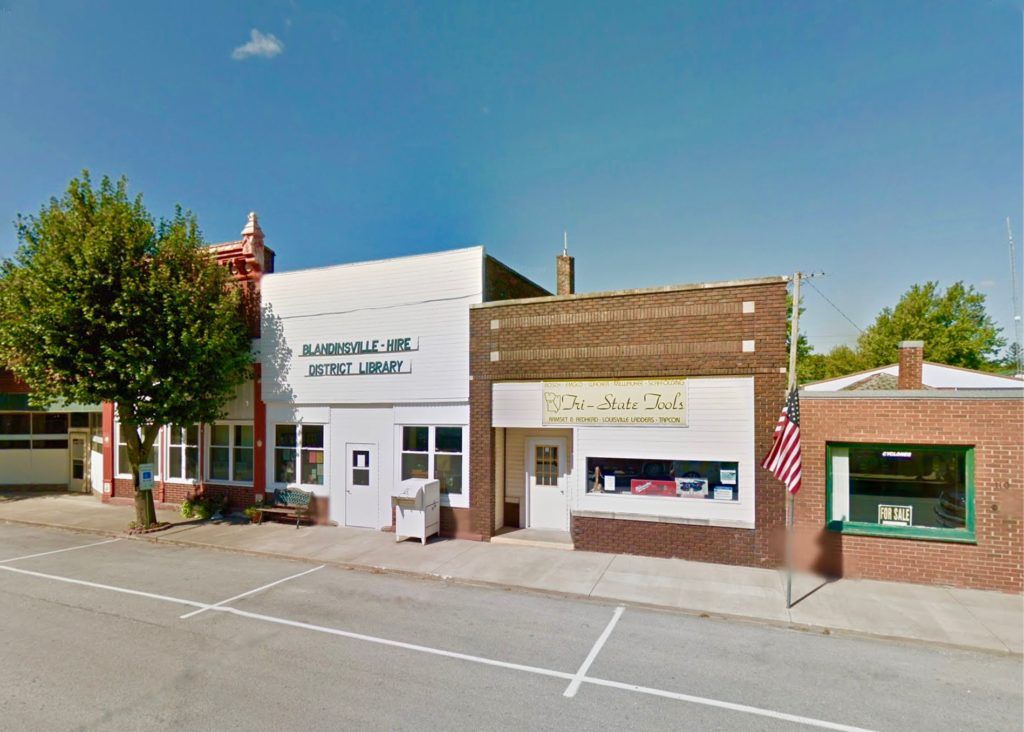 Blandinsville-Hire District Library