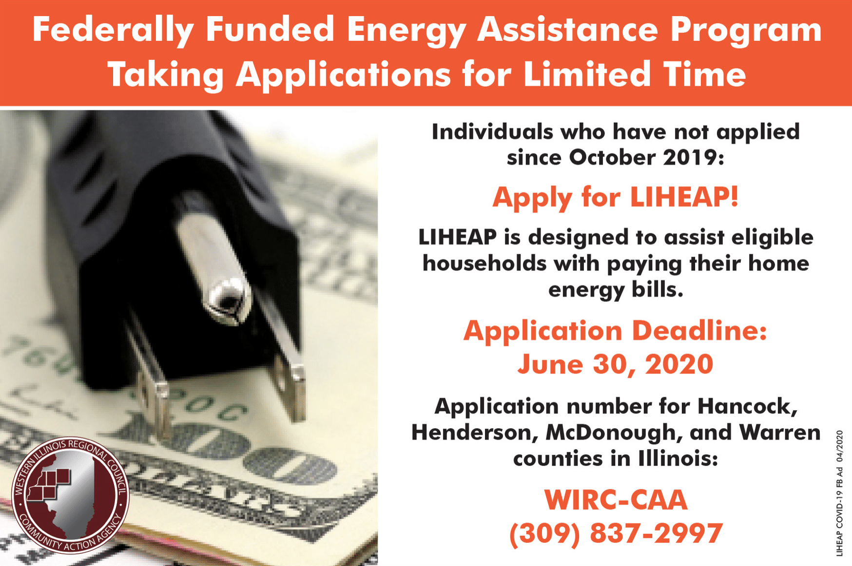 Federally Funded Emergency Assistance Program