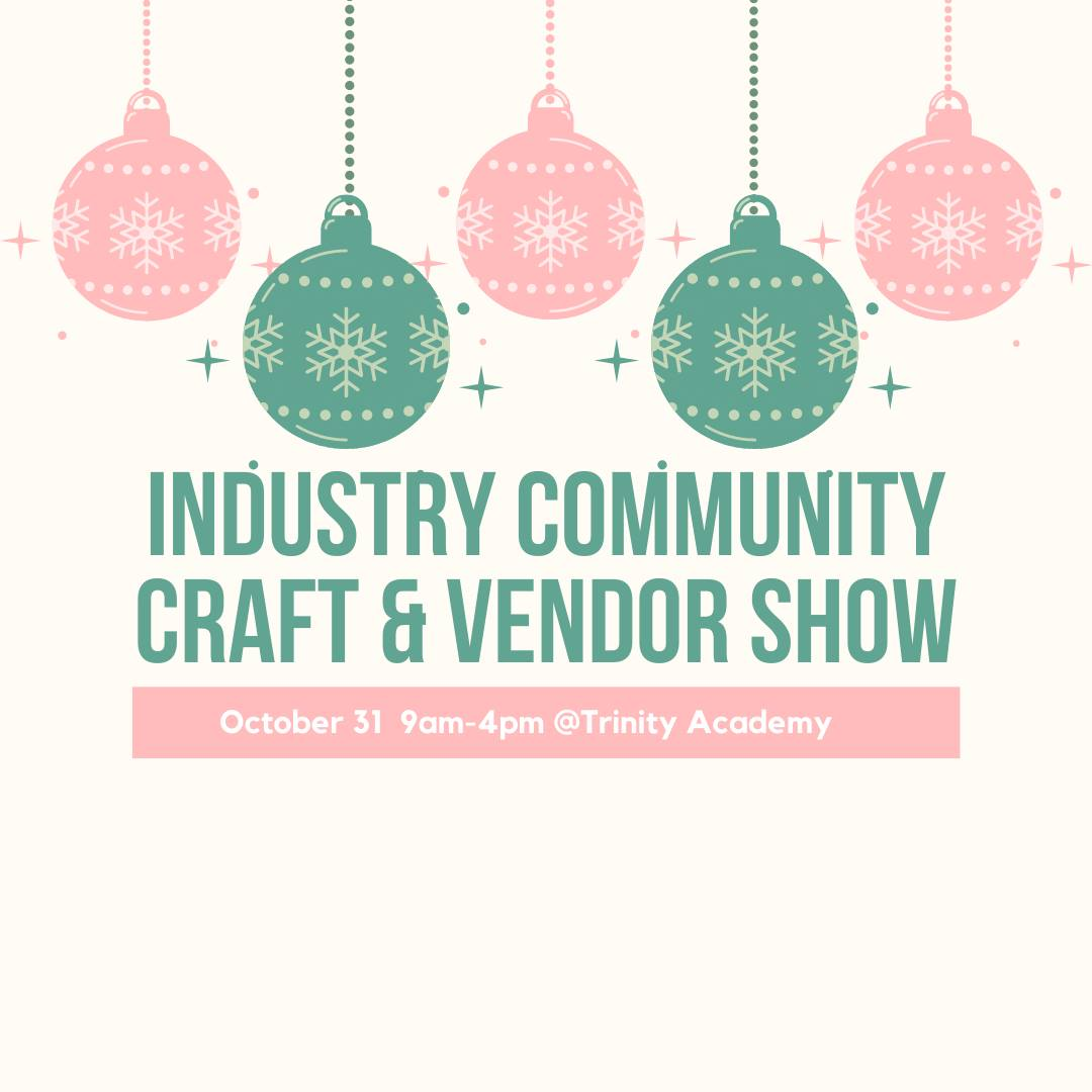 Industry Craft Show Flyer