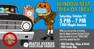 Trick or Treat 2020 Flyer