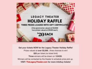 Legacy Movie Coupon Flyer