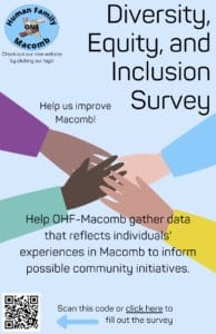 Diversity, Equity, and Inclusion Survey Flyer
