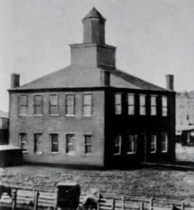 Courthouse as it looked in 1858