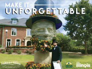 Unforgettable Living Lincoln Topiary Monument